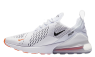 Nike Air Max 270 Just Do It Pack (Blancas/Negras) AH8050-106