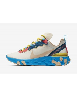 Nike React Element 55 (Tan/Azul) BQ2728-201