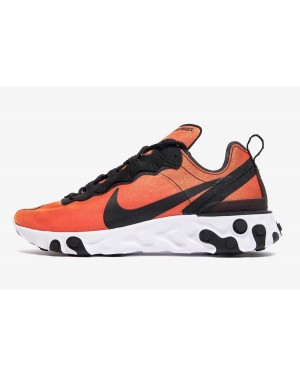 Nike React Element 55 PRM (Negras/Amarillas/Blancas) BQ9241-001