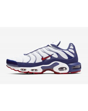 Nike Air Max Plus (Blancas/Navy Azul) CJ9928-100