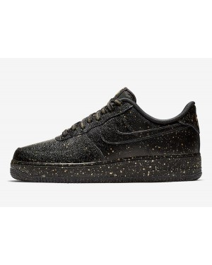 "Nike Air Force 1 ""Only Once"" (Negras/Oro) CJ7786-007"