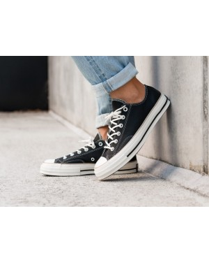 Converse Chuck Taylor All Star '70 OX (Negras/Light Fawn/Egret) 162395C
