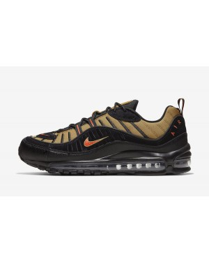 Nike Air Max 98 (Negras/Wheat/Cosmic Clay) 640744-014