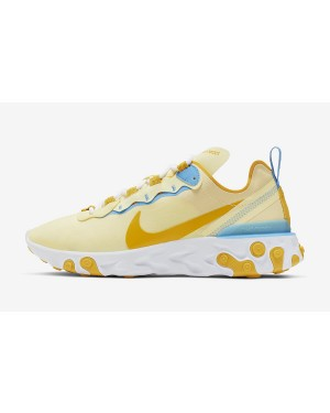 Nike React Element 55 (Amarillas/Azul claro/Blancas) BQ2728-700