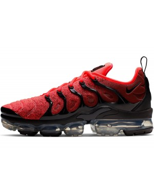 Nike Air VaporMax Plus (Negras/Flash Crimson) CJ0642-001