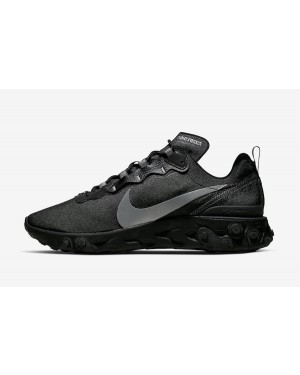 Nike React Element 55 (Negras/Anthracite) BV1507-002