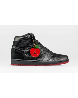 "Air Jordan 1 High OG ""SP Gina"" (Negras/Negras-Blancas-Rojas) CD7071-001"
