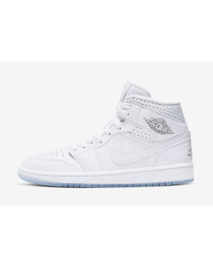 "Air Jordan 1 Mid ""Nos Differences Nous Unissent"" (Blancas/Azul-Rojas) CI9100-100"