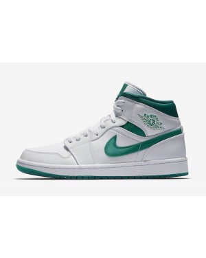 Air Jordan 1 Mid (Blancas/Verde) CD6759-103