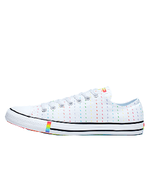 Converse All Star Low Top Pride (Blancas/Multicolor) 165717C