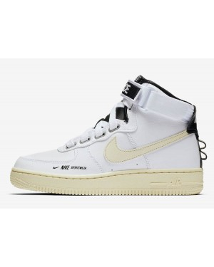 Nike Air Force 1 High Utility (Blancas/Light Cream/Negras) AJ7311-100