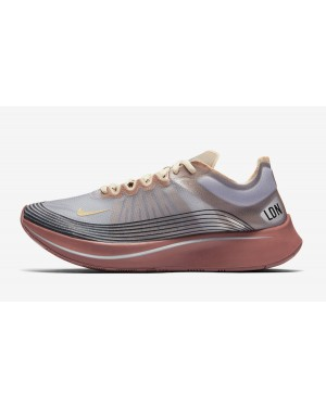 "Nike Zoom Fly SP ""London"" (Grises/Desert Ore/Metallic) AV7006-001"