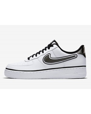 NBA x Nike Air Force 1 Low (Blancas/Negras) AJ7748-100