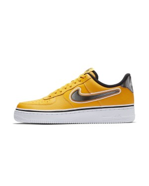 NBA x Nike Air Force 1 Low (Amarillas/Negras/Blancas) BV1168-700