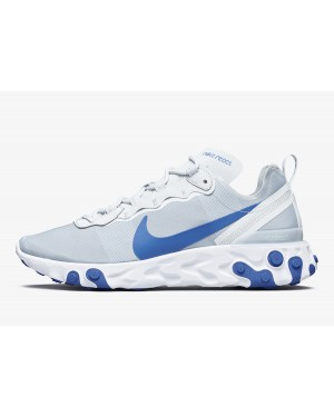 Nike React Element 55 (Pure Platinum/Azul) BQ6166-006