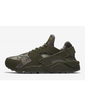 Nike Air Huarache (Cargo Khaki/Volt/Sequoia) AT6156-300