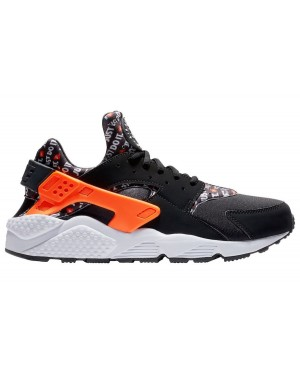 "Nike Air Huarache ""Just Do It"" (Negras/Naranjas/Blancas) AT5017-001"