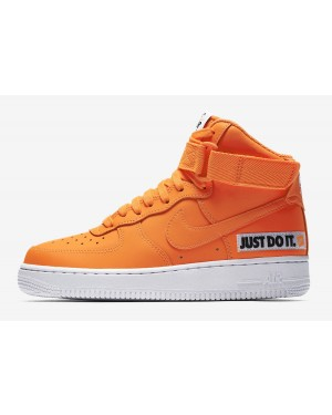 "Nike Air Force 1 High ""Just Do It"" (Naranjas/Blancas/Negras) BQ7925-800"
