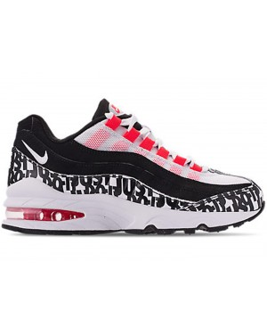 Nike Air Max 95 JDI Just Do It (Negras/Blancas/Bright Crimson) AQ9711-001