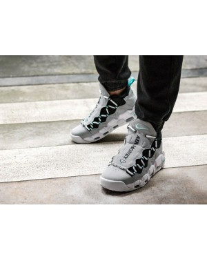 Nike Air More Money (Grises/Verde/Negras) AJ2998-003