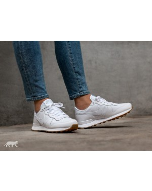 Nike Mujer Internationalist (Blancas/Blancas/Marrones) 828407-103