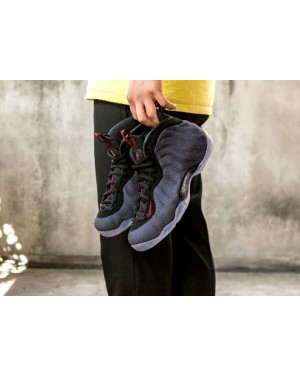 Nike Air Foamposite One *Denim* (Obsidian/Negras/Rojas) 314996-404