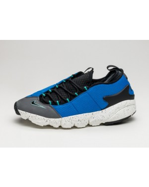 Nike Air Footscape NM (Hyper Cobalt/Negras/Blancas) 852629-400