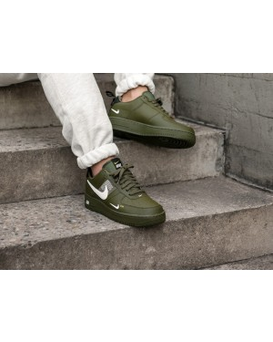 buy online c89fd ce37b Nike Air Force 1  07 LV8 Utility (Olive Blancas Negras Amarillas ...