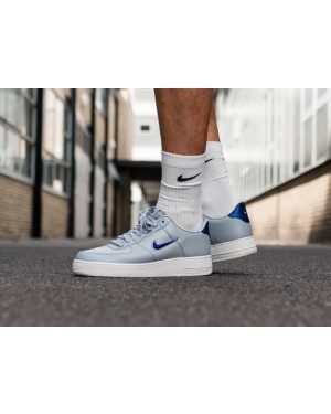 Nike Air Force 1 '07 LV8 Leather (Grises/Azul/Blancas) AJ9507-002