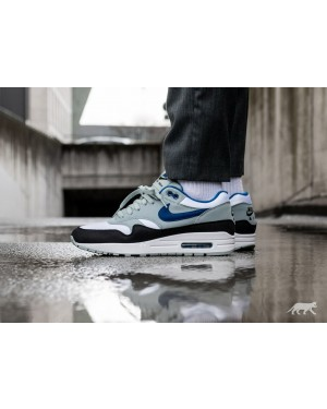 Nike Air Max 1 (Blancas/Azul/Light Pumice/Negras) AH8145-102