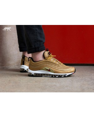 Nike Air Max 97 OG QS (Metallic Gold/Rojas) 884421-700