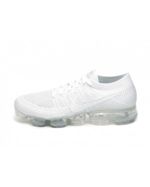 Nike Air Vapormax Flyknit (Blancas/Sail/Light Bone) 849558-100
