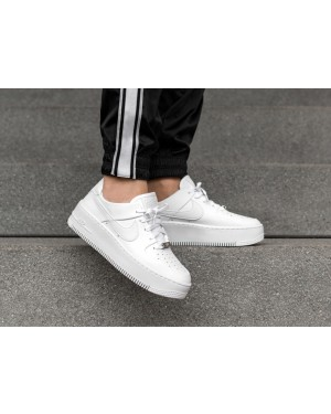 Nike Mujer Air Force 1 Sage Low (Blancas/Blancas) AR5339-100