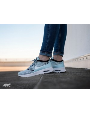 Nike Mujer Air Max Thea Ultra Flyknit (Azul/Blancas/Negras) 881175-400