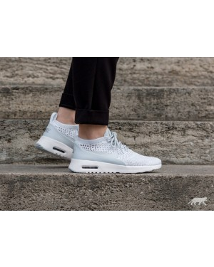 Nike Mujer Air Max Thea Ultra Flyknit (Pure Platinum/Blancas) 881175-002