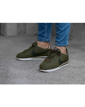 Nike Mujer Classic Cortez Leather (Olive/Sequoia) AV4618-300