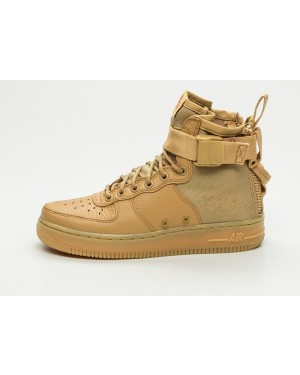 Nike Mujer SF Air Force 1 Mid (Oro/Oro) AA3966-700