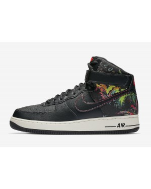 Nike Air Force 1 High (Negras/Multi) CI2304-001