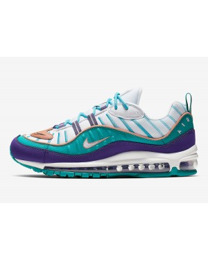 Nike Air Max 98 (Púrpura/Terra Blush-Spirit Teal) 640744-500