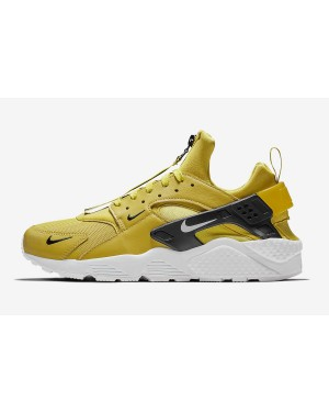 Nike Air Huarache Run PRM Zip (Bright Citron/Blancas-Negras) BQ6164-700