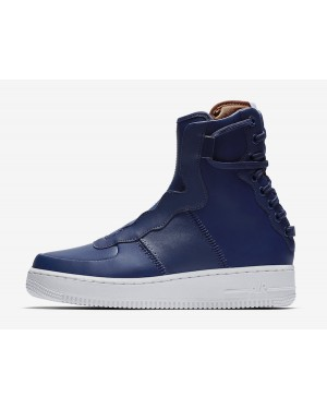 Nike Air Force 1 Rebel XX (Azul/Blancas-Dark Russet) AO1525-401