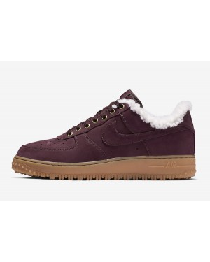 Nike Air Force 1 Premium Winter (Burgundy/Gum Marrones claro) AV2874-600