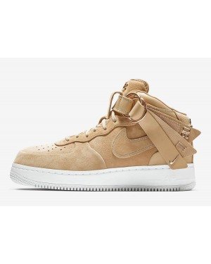 Nike Air Force 1 Mid Victor Cruz (Vachetta Tan/Oro metalizado) AO9298-200