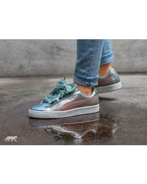 Puma Basket Heart FM *Bauble Pack* (Plateadas) 364809-01