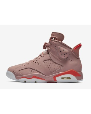 "Air Jordan 6 ""Aleali May"" (Rosas/Bright Crimson) CI0550-600"