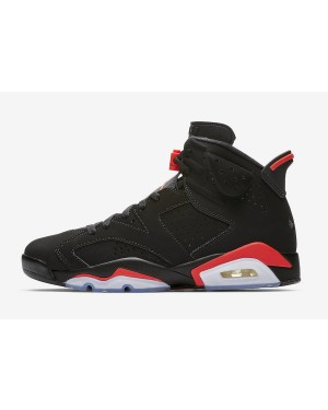 Air Jordan 6 (Negras/Infrared) 384664-060