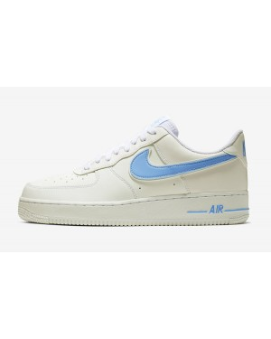 Nike Air Force 1 '07 3 (Blancas/Azul) AO2423-100