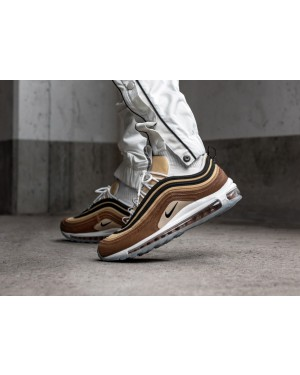 "Nike Air Max 97 ""Unboxed"" (Marrones/Negras-Oro) 921826-201"