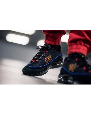 Nike Air Max 98 (Negras/Azul) CD1537-001