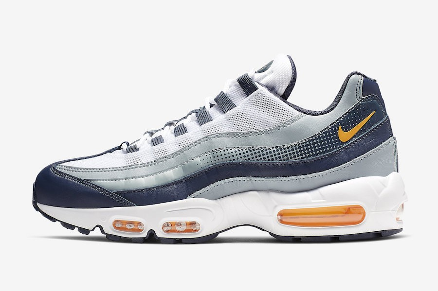 Nike Air Max 95 SE (Midnight Navy/Naranjas/Blancas) AJ2018-401